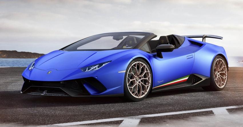 Lamborghini Huracan Performante Spyder revealed Image #787462