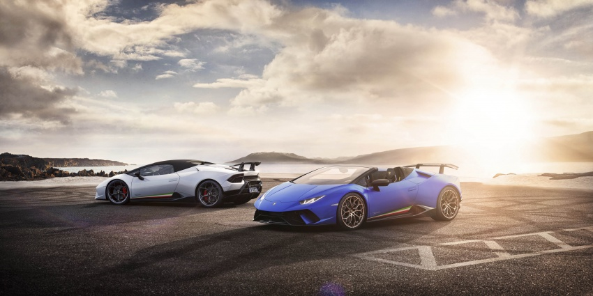 Lamborghini Huracan Performante Spyder revealed Image #787474