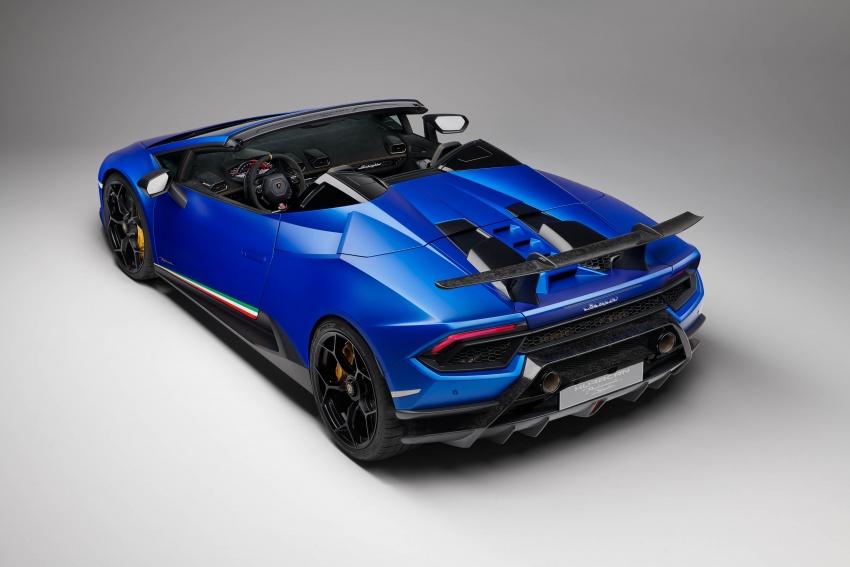 Lamborghini Huracan Performante Spyder revealed Image #787476