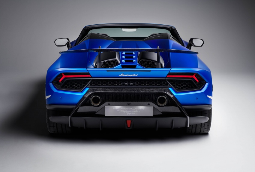 Lamborghini Huracan Performante Spyder revealed Image #787483