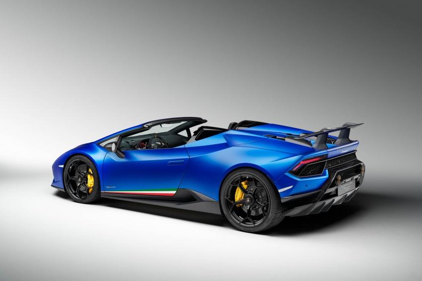 Lamborghini Huracan Performante Spyder revealed Image #787488