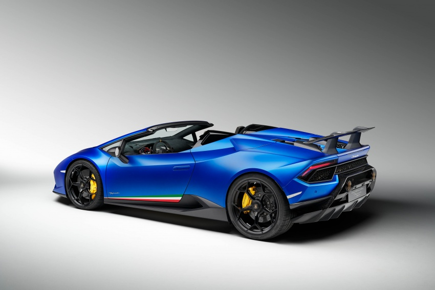 Lamborghini Huracan Performante Spyder revealed Image #787486