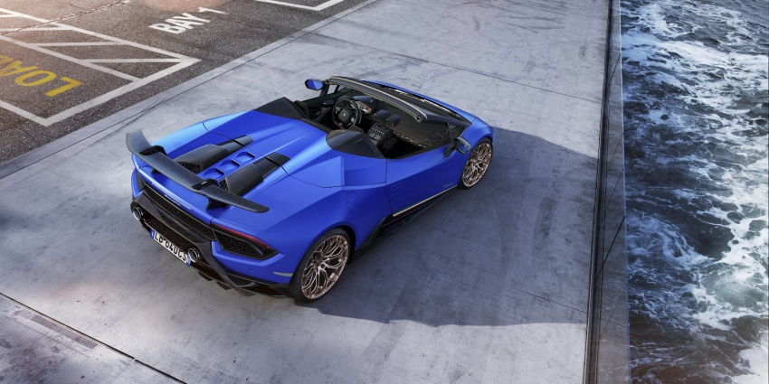 Lamborghini Huracan Performante Spyder revealed Image #787463