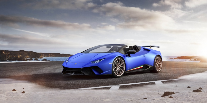 Lamborghini Huracan Performante Spyder revealed Image #787492