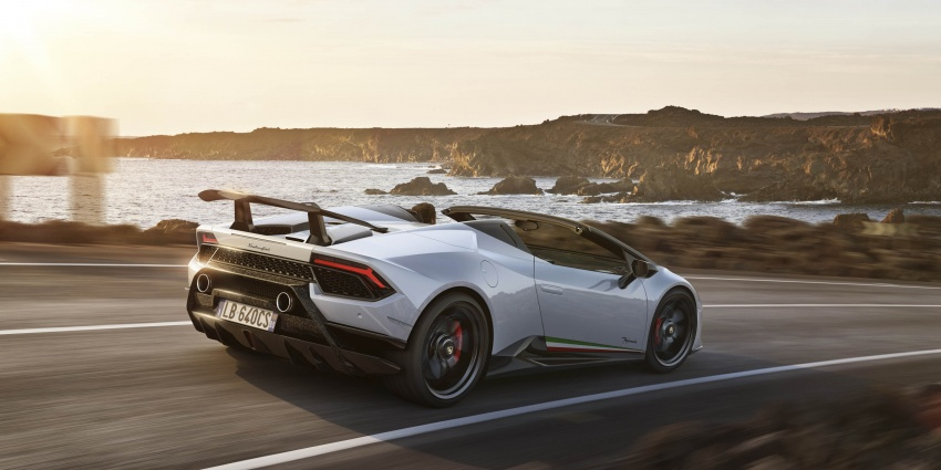 Lamborghini Huracan Performante Spyder revealed Image #787496
