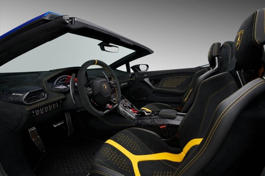 Lamborghini Huracan Performante Spyder revealed Image #787500