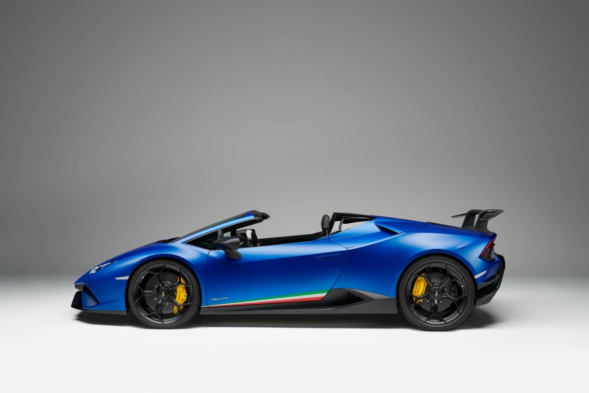 Lamborghini Huracan Performante Spyder revealed Image #787503