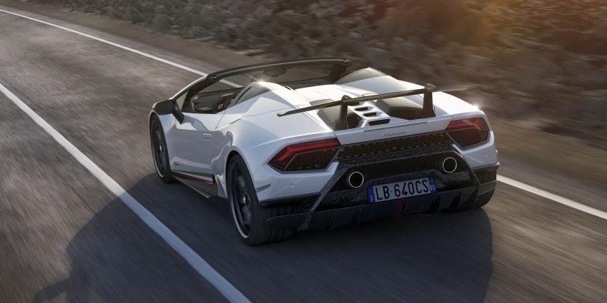Lamborghini Huracan Performante Spyder revealed Image #787505