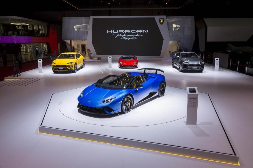 Lamborghini Huracan Performante Spyder revealed Image #787537