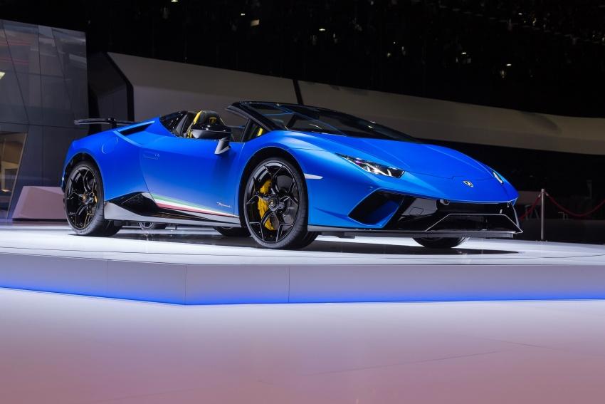 Lamborghini Huracan Performante Spyder revealed Image #787542