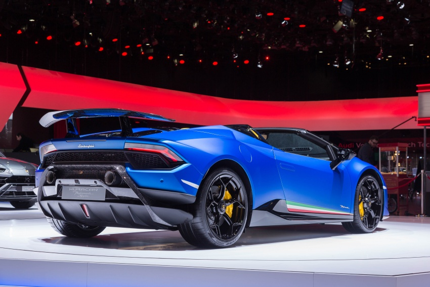 Lamborghini Huracan Performante Spyder revealed Image #787545