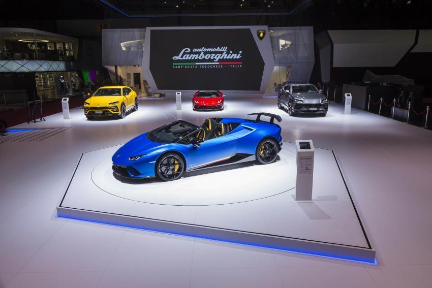 Lamborghini Huracan Performante Spyder revealed Image #787548