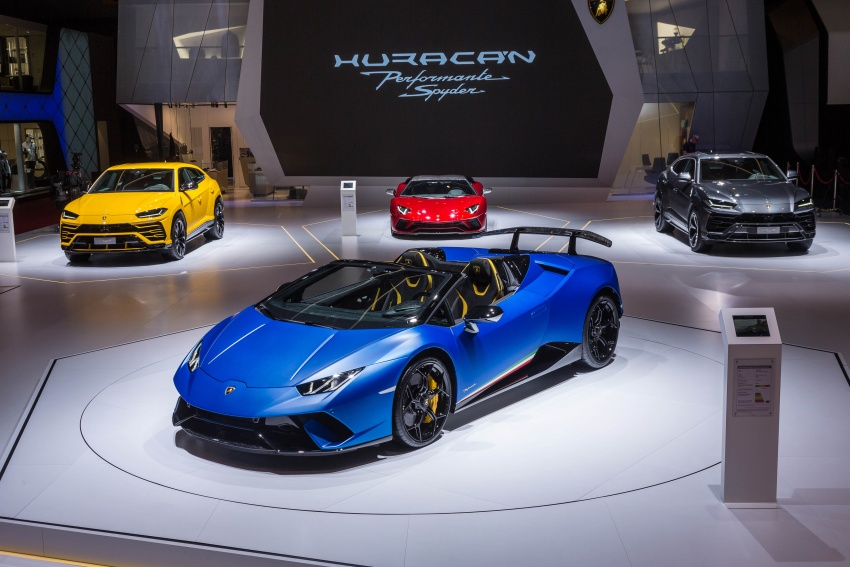 Lamborghini Huracan Performante Spyder revealed Image #787553