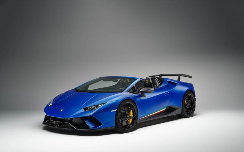 Lamborghini Huracan Performante Spyder revealed Image #787469