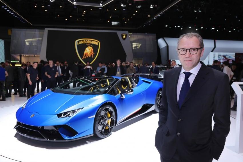 Lamborghini Huracan Performante Spyder revealed Image #787564