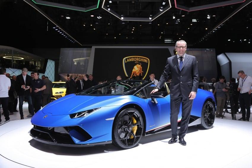 Lamborghini Huracan Performante Spyder revealed Image #787565