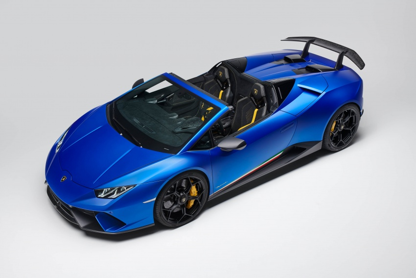 Lamborghini Huracan Performante Spyder revealed Image #787471