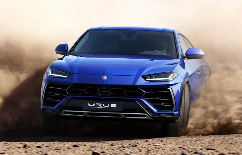 Lamborghini Urus launched in Malaysia, estimated RM1 million – 650 PS SUV, 0-100 km/h in 3.6 seconds Image #790829