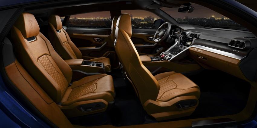 Lamborghini Urus launched in Malaysia, estimated RM1 million – 650 PS SUV, 0-100 km/h in 3.6 seconds Image #790839