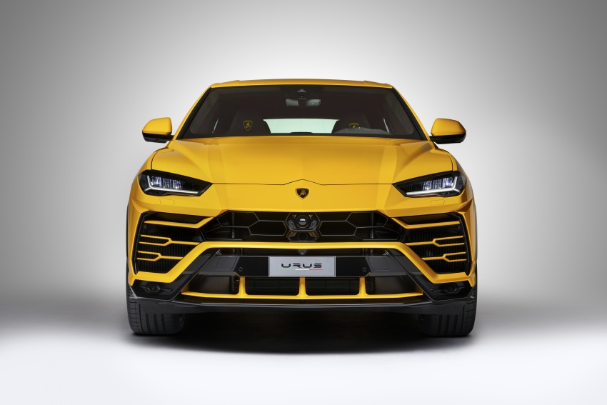 Lamborghini Urus launched in Malaysia, estimated RM1 million – 650 PS SUV, 0-100 km/h in 3.6 seconds Image #790832