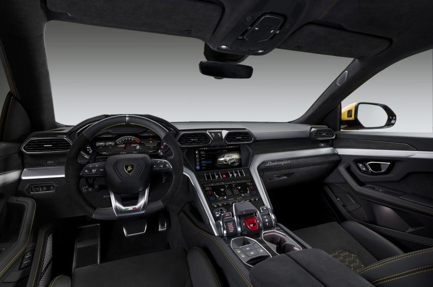 Lamborghini Urus launched in Malaysia, estimated RM1 million – 650 PS SUV, 0-100 km/h in 3.6 seconds Image #790833