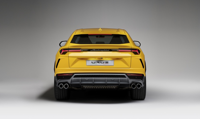 Lamborghini Urus launched in Malaysia, estimated RM1 million – 650 PS SUV, 0-100 km/h in 3.6 seconds Image #790836