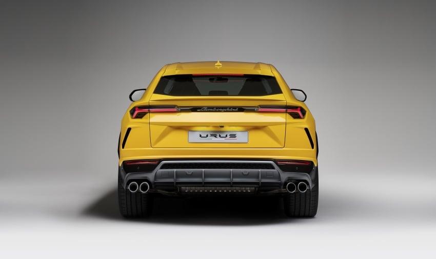 Lamborghini Urus launched in Malaysia, estimated RM1 million – 650 PS SUV, 0-100 km/h in 3.6 seconds Image #790836