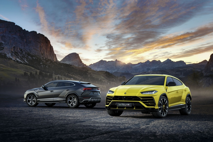 Lamborghini Urus launched in Malaysia, estimated RM1 million – 650 PS SUV, 0-100 km/h in 3.6 seconds Image #790838