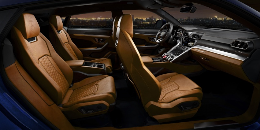 Lamborghini Urus diperkenal di M'sia – 650 PS/850 Nm Image #790797