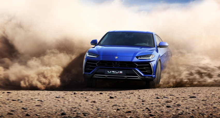 Lamborghini Urus diperkenal di M'sia – 650 PS/850 Nm Image #790773