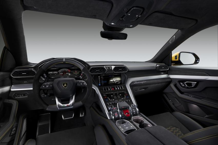 Lamborghini Urus diperkenal di M'sia – 650 PS/850 Nm Image #790778
