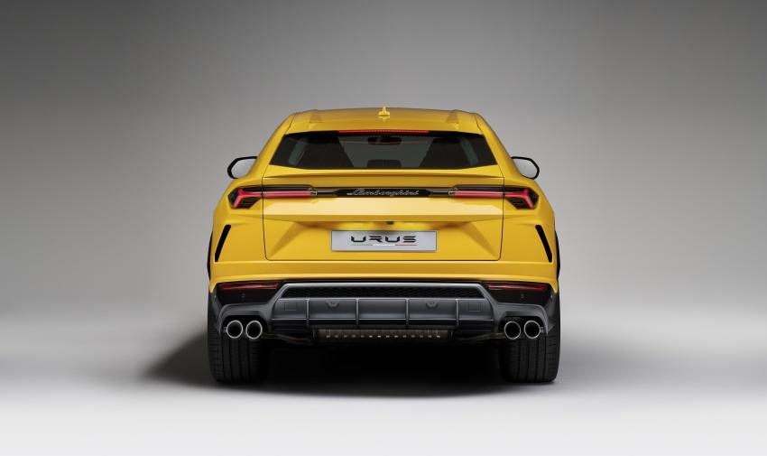 Lamborghini Urus diperkenal di M'sia – 650 PS/850 Nm Image #790783