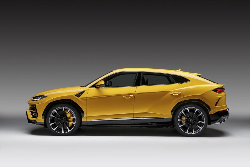 Lamborghini Urus diperkenal di M'sia – 650 PS/850 Nm Image #790787