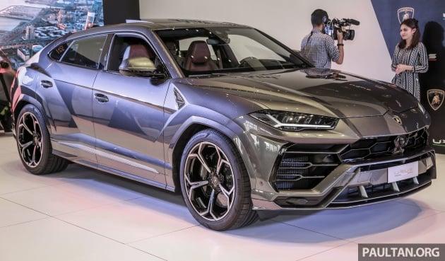 Lamborghini Urus launched in Malaysia, estimated RM1 million