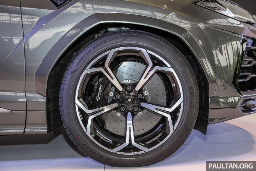 Lamborghini Urus diperkenal di M'sia – 650 PS/850 Nm Image #790948