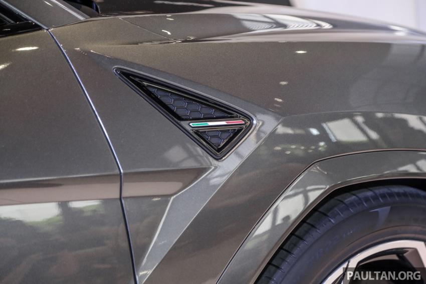 Lamborghini Urus diperkenal di M'sia – 650 PS/850 Nm Image #790949