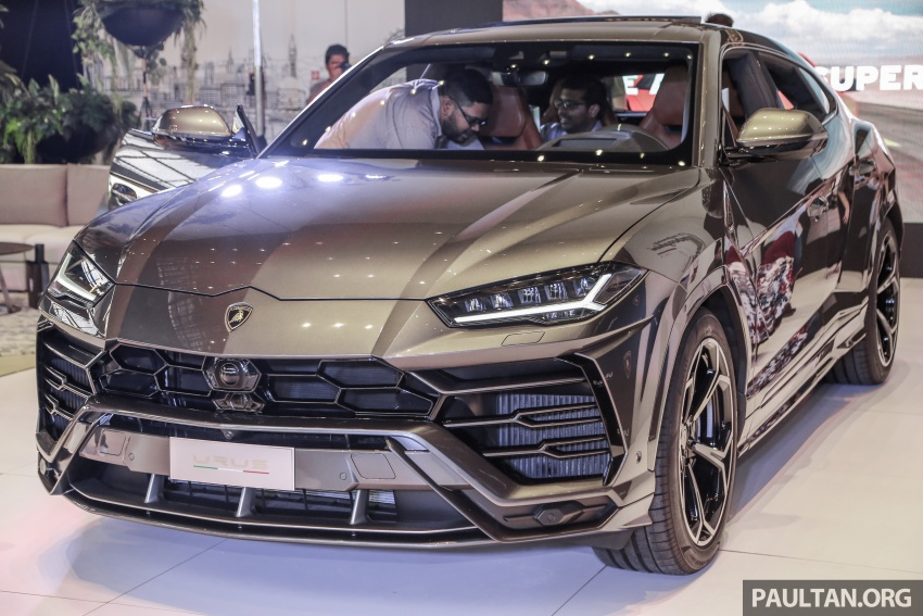 Lamborghini Urus launched in Malaysia, estimated RM1 million – 650 PS SUV, 0-100 km/h in 3.6 seconds Image #790951