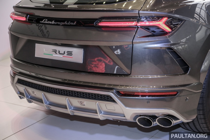 Lamborghini Urus launched in Malaysia, estimated RM1 million – 650 PS SUV, 0-100 km/h in 3.6 seconds Image #790984