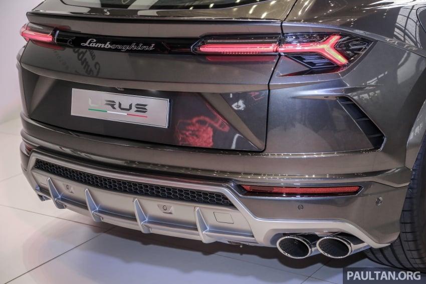 Lamborghini Urus launched in Malaysia, estimated RM1 million – 650 PS SUV, 0-100 km/h in 3.6 seconds Image #790984