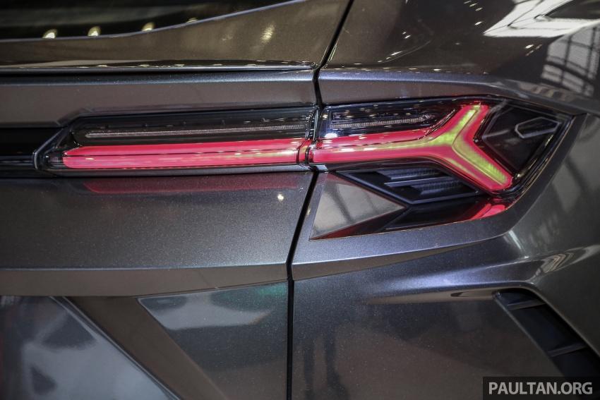 Lamborghini Urus diperkenal di M'sia – 650 PS/850 Nm Image #790963