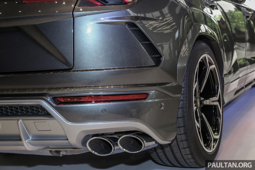 Lamborghini Urus launched in Malaysia, estimated RM1 million – 650 PS SUV, 0-100 km/h in 3.6 seconds Image #790987