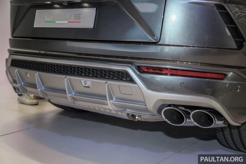 Lamborghini Urus launched in Malaysia, estimated RM1 million – 650 PS SUV, 0-100 km/h in 3.6 seconds Image #790989
