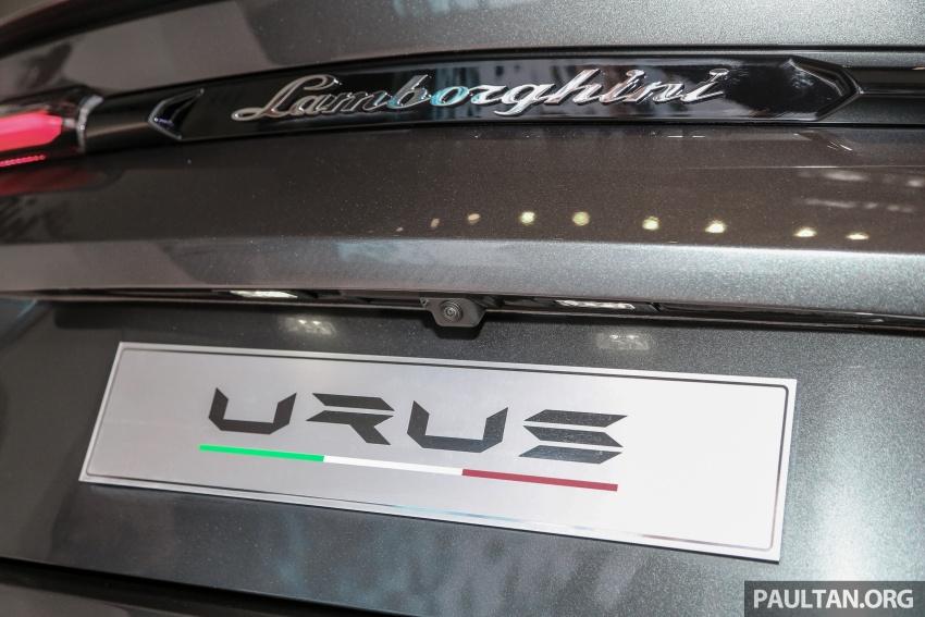 Lamborghini Urus launched in Malaysia, estimated RM1 million – 650 PS SUV, 0-100 km/h in 3.6 seconds Image #790992