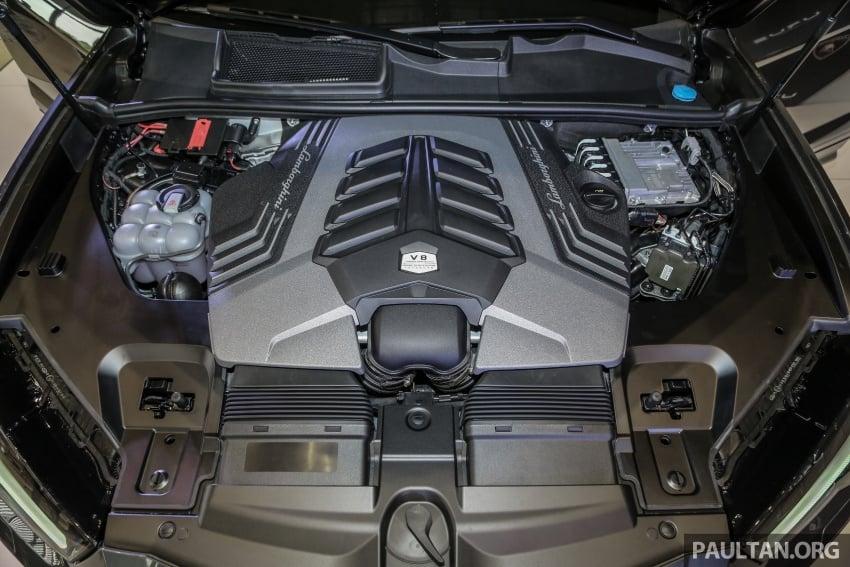 Lamborghini Urus launched in Malaysia, estimated RM1 million – 650 PS SUV, 0-100 km/h in 3.6 seconds Image #791002