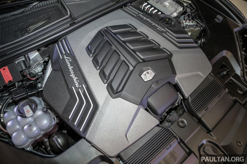 Lamborghini Urus diperkenal di M'sia – 650 PS/850 Nm Image #790981