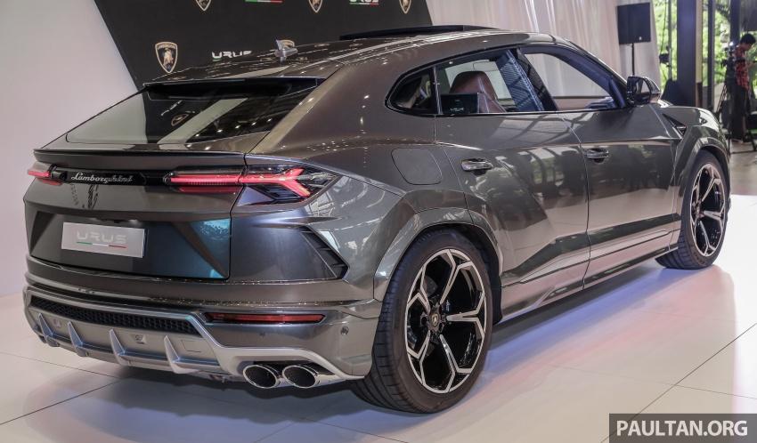 Lamborghini Urus launched in Malaysia, estimated RM1 million – 650 PS SUV, 0-100 km/h in 3.6 seconds Image #790953