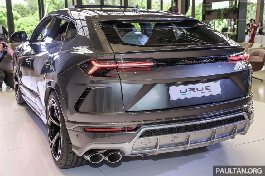 Lamborghini Urus launched in Malaysia, estimated RM1 million – 650 PS SUV, 0-100 km/h in 3.6 seconds Image #790955