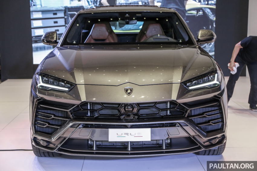 Lamborghini Urus launched in Malaysia, estimated RM1 million – 650 PS SUV, 0-100 km/h in 3.6 seconds Image #790956