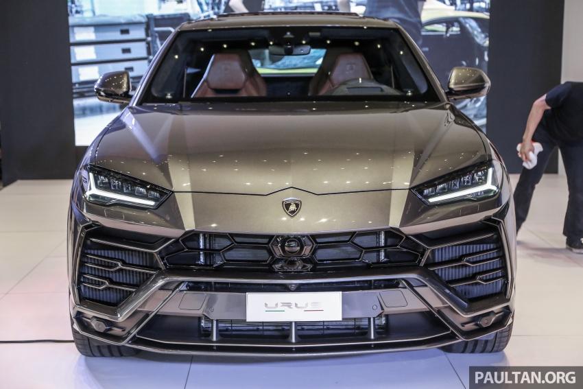 Lamborghini Urus launched in Malaysia, estimated RM1 million – 650 PS SUV, 0-100 km/h in 3.6 seconds Image #790956