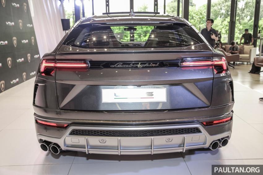 Lamborghini Urus launched in Malaysia, estimated RM1 million – 650 PS SUV, 0-100 km/h in 3.6 seconds Image #790959